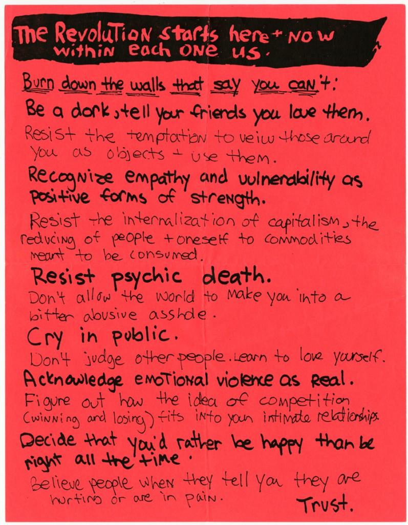 Riot grrrl manifesto
